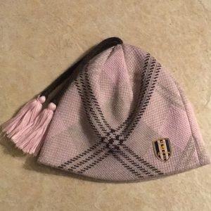 Brown & Pink Burton Hat